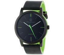Armbanduhr für Herren mit Analog-Anzeige, Quarz-Uhr und Lederarmband - Wasserdichte Herrenuhr mit zeitlosem, schickem Design - klassische Uhr für Männer - BM523-620A-1  Ibiza