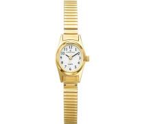 Damen-Armbanduhr Analog gold 630715