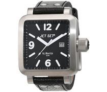 Damen-Armbanduhr Analog Quarz Leder J27591-217