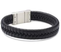 Boccia Damen-Armband Leder Schwarz Titan Sat 0356-0121