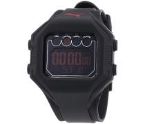 Puma Time Active Herren-Armbanduhr Digital Bounce- L Black Quarz A.PU910771002