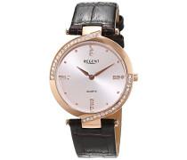 Regent Damen-Armbanduhr Analog Quarz Leder 12100609