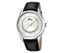 Herren-Armbanduhr Analog Quarz Leder 15978/1