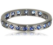 Fascination by Ellen K. Damen-Ring 375 Weißgold rhodiniert Saphir Rundschliff blau