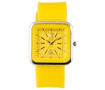 Eton Damen-Armbanduhr Analog Silikon gelb 2897-9