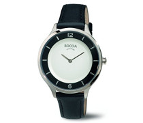 Damen-Armbanduhr Analog Quarz Leder 3249-01