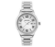Damen-Armbanduhr XS Analog Quarz Edelstahl JGS2571B