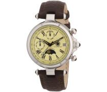 Damen-Armbanduhr XS Mirage Analog Automatik Leder CD-MIRL-AT-LT-STST-CR
