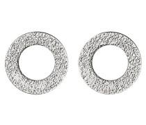 Jewelry Damen-Ohrstecker Messing aus der Serie versilbert, 1.2 cm 281326003