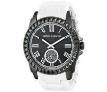 Damen-Armbanduhr Analog Quarz Keramik VC-5191GYWT