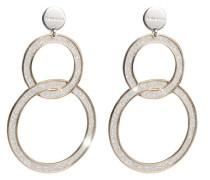 Damen-Ohrringe SOLEIL Bronze mit Glam Film BSOORB09