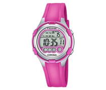 Damen-Armbanduhr Digital Quarz Plastik K5692/3