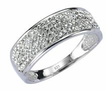 Crystelle Damen-Ring 925 Sterling Silber
