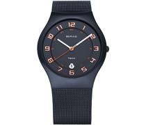 Unisex-Armbanduhr Classic Analog Quarz Edelstahl 11937-393