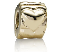 Pandora Damen-Bead 14 Kt Gold (585) Clip-Element KASI 75243