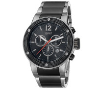 Collection Herren-Armbanduhr Anteros Chronograph Quarz Edelstahl EL101281F05
