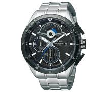 Uhren Herren-Armbanduhr XL Sport Chronograph Quarz Edelstahl PS6039X1