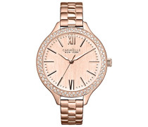 Caravelle New York Damen-Armbanduhr Analog Quarz Edelstahl 44L125