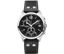 Hamilton Herren-Armbanduhr XL Analog Automatik Edelstahl H76512733