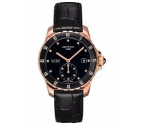 Certina Damen-Armbanduhr XS Analog Quarz Leder C014.235.36.051.00