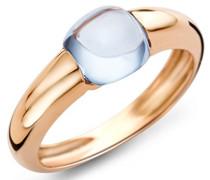 Miore Damen-Ring 9 Karat (375) Gelbgold Topas 3.0ct Größe 56 MNA9072R6