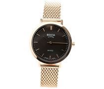 Damen-Armbanduhr Analog Quarz Edelstahl beschichtet 3246-08