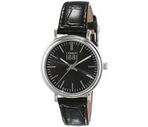Damen-Armbanduhr FABRIANO Analog Quarz Leder CRM111SN02BK