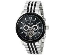 Armbanduhr für Herren mit Analog Anzeige, Automatik-Uhr mit Edelstahl Armband - Wasserdichte Herrenuhr mit zeitlosem, schickem Design - klassische Uhr für Männer - BM327-127 Denver