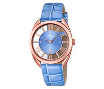 Damen-Armbanduhr Analog Quarz Leder 18226/2