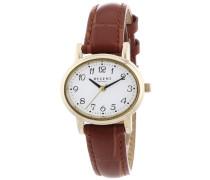 Damen-Armbanduhr Analog Quarz Leder 12100539