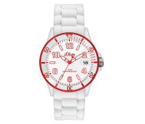 s.Oliver Herren-Armbanduhr XL Analog Quarz Silikon SO-2730-PQ