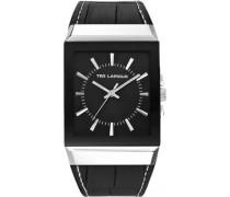 Herren-Armbanduhr Analog Quarz Leder 5114004