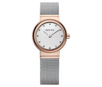 Time Damen-Armbanduhr XS Analog Quarz Edelstahl 10126-066