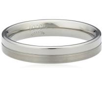 Unisex-Ring You & me Titan mattiert