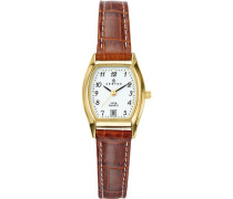 Certus Damen-Armbanduhr Analog Quarz Leder 646501