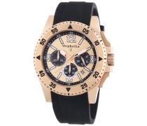 Orphelia Herren-Armbanduhr XL Chronograph Quarz Silikon OR21690224