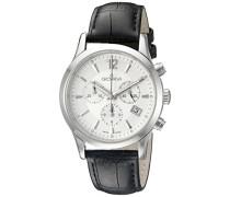 Herren-Armbanduhr 1209.9532 Chronograph Leder Schwarz 1209.9532