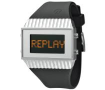 Replay Herren Armbanduhr Quarz, RH5102AND, 46 mm