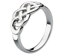 Ring Sterling-Silber 925, keltisches Knotensymbol 8 , L