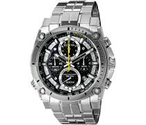 Herren-Armbanduhr Champlain Chronograph Quarz Edelstahl 96B175