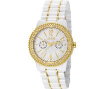! Damen-Armbanduhr Analog Quarz Keramik JP101082F03U