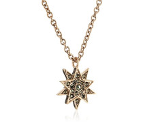 Damen Halskette Vergoldetes Metall Kristall Swarovski 336173