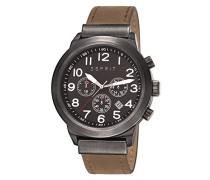 Herren-Armband Baxter Men'Chronograph Quarz Leder braun KL101 ES108041002