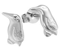 Kinder-Ohrstecker Pinguin 925 Silber Fo O4000S Ohrringe Schmuck