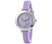 D&G Dolce & Gabbana Damen-Armbanduhr Hoop-LA Analog Quarz DW0668