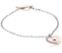 Damen Armband 925 Sterling Silber Perlmutt