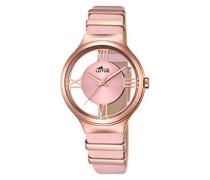 Damen-Armbanduhr Analog Quarz Leder 18338/1