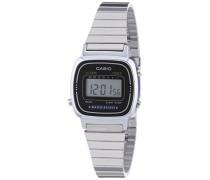 Collection Frauen-Armbanduhr Digital Edelstahl – LA-670WEA-1EF