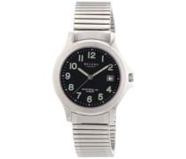 Regent Herren-Armbanduhr XL Analog Quarz Edelstahl 11310049