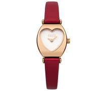 Oasis Damen-Armbanduhr Analog Quarz Leder B1518